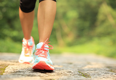 Walking has many health benefits.